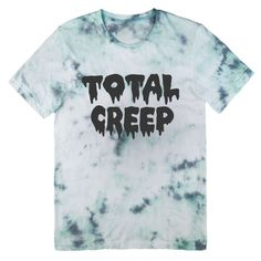Total Creep tie dye T-shirt UNISEX sizes S M L XL