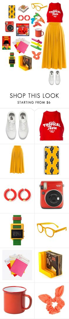 """""""No You Grow Up!"""" by mogamytimestwo ❤ liked on Polyvore featuring Vans, GCDS, Victor Xenia, Fuji, Void, See Concept, i am a, Falcon Enamelware and Dorothy Perkins"""