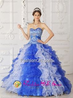166f9a8d02 2013 Spring Organza Quinceanera Dress In Beaded Decorate Multi color in  Potosi Bolivia Style Dresses