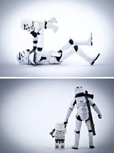 Storm trooper dad