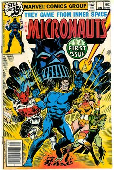 The Micronauts. Issue No. 1. Marvel. LOVED this series back then!