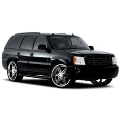 Cadillac Escalade Custom Wheels ❤ liked on Polyvore featuring cars, filler and other