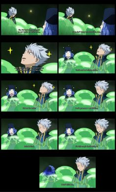 Lyon and Juvia funny Fairy Tail moment but he wasn't kidding
