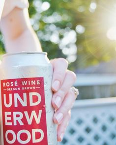 Underwood Rose from Union Wine Co - canned wine