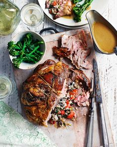 Stuffed lamb shoulder is great for dinner parties and entertaining – full of…