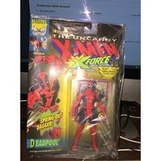 #Christmas How do I get Deadpool I Action Figure 1992 Toy Biz MOC X-Men X-Force by Toy Biz for Christmas Gifts Idea Sales . When Christmas  arrives, a number of actions receive routinary mainly because we've got performed all of them countless periods in the past they have got grow to be a custom. In case all of us glimpse...