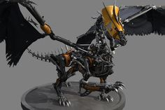 robot dragon