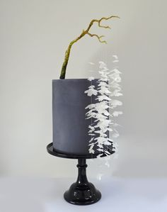 A cake inspired by a Janpanese bonsai.