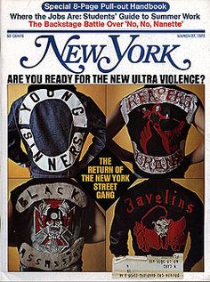 Are You Ready for the New, Ultra-Violent Street Gang? -- New York Magazine - Nymag