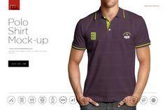 Polo Shirt Mock-up by mesmeriseme.pro on @creativemarket