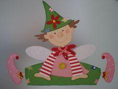 Fensterbild -kleiner Wichtel-  Kinderzimmer - Dekoration-Tonkarton!!!