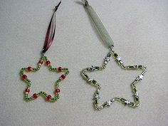 How to Make Beaded Star Ornaments | eHow