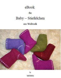 eBook tiny shoes by TAToMTA on DaWanda.com