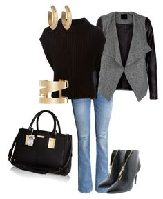 """Simple&Elegant"" by basakb on Polyvore featuring moda, H&M, Eleventy, LIU•JO, House of Harlow 1960, Isabel Marant ve River Island"