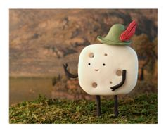 Happy Cheese Day!!   Swiss Cheese Print by Cuddles and Rage by CuddlesAndRage on Etsy, $10.00