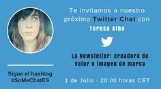 La newsletter y nuestra imagen de marca con Teresa Alba