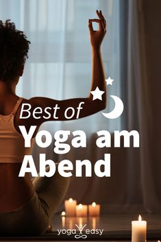 Komm zur Ruhe mit Yoga Leave the day behind and come to rest. We've put together our most beautiful evening yoga videos for you – for one week you can practice asana, meditation and pranayama for free each night. Yin Yoga, Yoga Meditation, Yoga Flow, Hormon Yoga, Yoga Pilates, Iyengar Yoga, Ashtanga Yoga, Pranayama, Yoga Inspiration