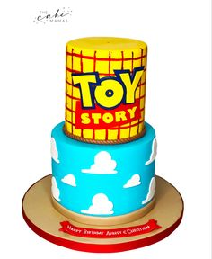 Call or email to order your celebration cake today. Toy Story Birthday Cake, Leo Birthday, Disney Birthday, Happy Birthday, Disney Themed Cakes, Disney Presents, Toy Story Cakes, Cakes Today, Celebration Cakes