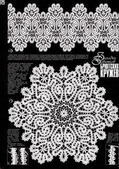 Crochet Doily Pattern in Charts Crochet Doily Patterns, Form Crochet, Crochet Borders, Crochet Woman, Crochet Chart, Lace Patterns, Crochet Motif, Crochet Designs, Crochet Doilies