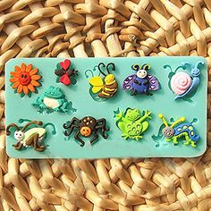3D Silicone Fondant Mould Animal Insect Cake Decorating Mold *** Hurry! Check out this great product : Bakeware Sets