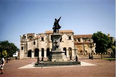 The Cathedral and Columbus Square in Santo Domingo, DR is a very nice place to visit.