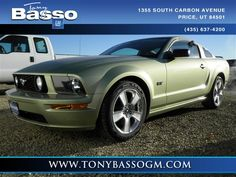 2006 Ford Mustang, Green, 12267275