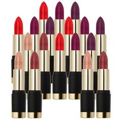 Milani Bold Matte Lipstick Strong, Positive & Confident - Choose Your Shade! Makeup Beauty Box, Makeup Box, Revlon Color, Pale Skin Makeup, Milani Cosmetics, Essie Gel, Makeup Sale, Purple Lips, Make Up
