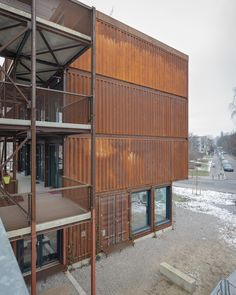 @Uncube A Container village for students in Berlin