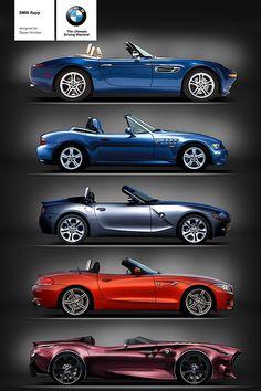 BMW Rapp Anniversary Concept. Z8, Z3, Z4 (E85), Z4 (E89), Rapp Concept