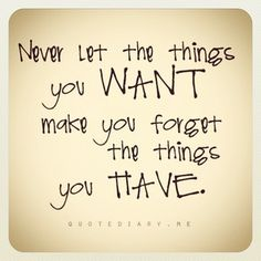 remember what you have