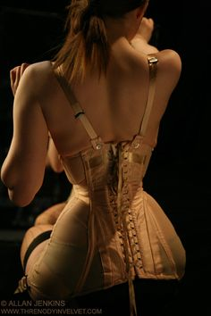 Though I am grateful for the comfort of today I do love the corsets magic of shaping
