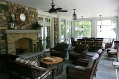 Classic shingle style lakehome offering spectacular lake views and wonderful family gathering spaces. The home blends beautifully with its environment and e...