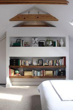 Bedroom Built-Ins via fabricpaperglue