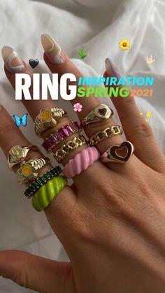 Stylish Jewelry, Cute Jewelry, Diy Jewelry, Jewelry Accessories, Jewellery, Cute Teen Outfits, Spring Outfits Women, Trendy Outfits, Antique Rings