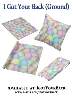 Lots of soft colored Easter Eggs......Add your message or text to personalize - #Gravityx9 #Easter #Coloredeggs #Zazzle