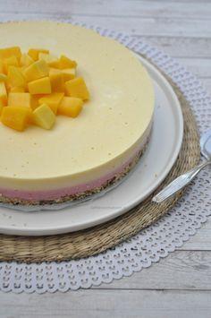 Gezonde frambozen mango kwarktaart – Liefde voor bakken