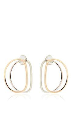 Little Ear Clipse Earring by DELFINA DELETTREZ for Preorder on Moda Operandi