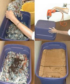 Do you know how to make a worm composting bin?-Here is a nice round up of 10 inspiring homemade worm bin ideas and plans.