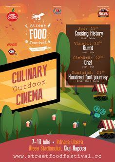Atenție dragi gurmanzi și iubitori de experiențe culinare! Pe 7 – 10 Iulie sunteți invitați pe Aleea Stadionului din Cluj-Napoca la primul festival de street-food din România: Street Food Fes…