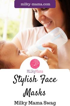 Show off your Milky Mama pride while protecting you and your loved ones in style with our white face mask that is not just a sanitary necessity, but also a unique fashion accessory. Click here to see our face mask that provide a physical barrier around the face. |Face Mask| Face Mask Pattern| Face Mask Design| | Breastfeeding| New Mom| New Baby| Pumping|