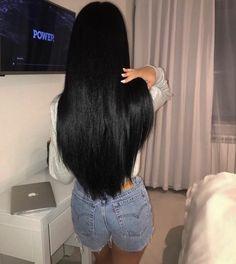 Long Dark Hair, Long Curly Hair, Curly Hair Styles, Short Hair Wigs, Curly Wigs, Beautiful Long Hair, Gorgeous Hair, Wig Hairstyles, Straight Hairstyles