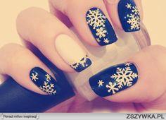 zimowe wzorki na paznokcie - Szukaj w Google