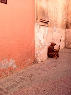 Check out the colorful streets in Marrakesh