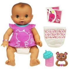 Baby Alive Real As Can Be Baby Doll Brunette Hasbro