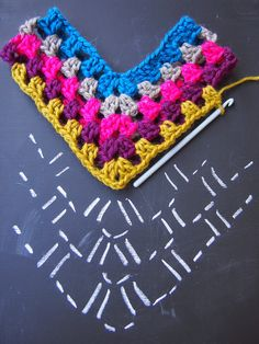 Ideas For Crochet Shawl Pattern Free Diagram - Diy Crafts Crochet Poncho Patterns, Crochet Scarves, Crochet Shawl, Crochet Clothes, Crochet Stitches, Knitting Patterns, Knit Crochet, Free Knitting, Patron Crochet