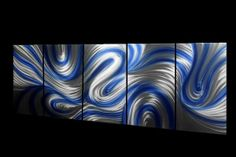Metal Wall Art Abstract Decor Contemporary Modern by Ryanart2011, $99.00