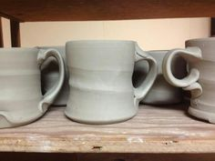 Bill van Gilder mugs & handles.   Love them!