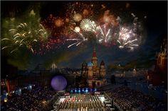 """Международный военно-музыкальный фестиваль """"Спасская башня"""""""