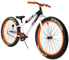Dynacraft Boy's Krusher Bike, Black/White/Orange, 26-Inch Dynacraft,http://www.amazon.com/dp/B00E1XWD7K/ref=cm_sw_r_pi_dp_6I4Nsb0T1R1R7V58