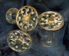 Medium Drapery Medallions by Metropolis Iron, Inc.http://metroiron.net/item-10047-3-diameter/